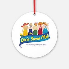 Dixie Swim Club Logo Ornament (Round)