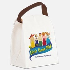 Dixie Swim Club Logo Canvas Lunch Bag