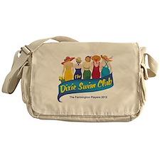 Dixie Swim Club Logo Messenger Bag