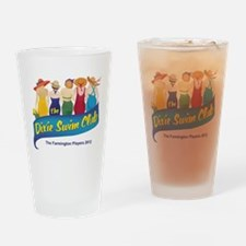 Dixie Swim Club Logo Drinking Glass