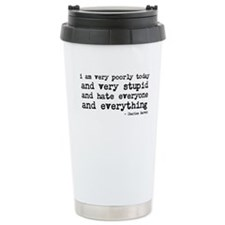 Poorly today Travel Mug