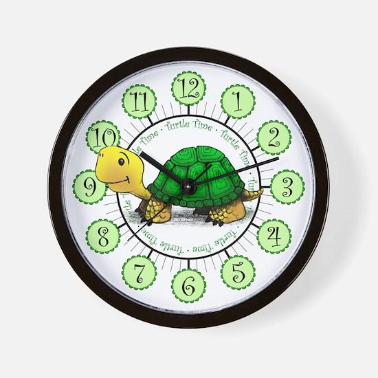Turtle Time Wall Clock
