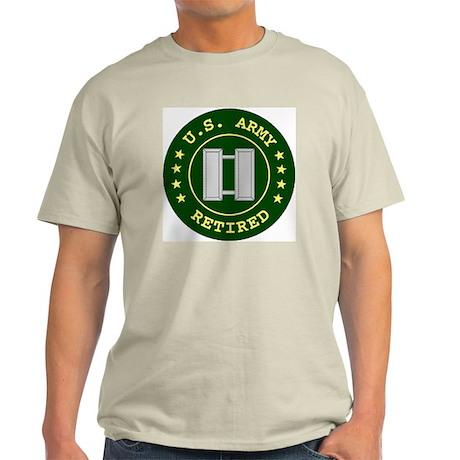 Retired Army Captain Shirt T-Shirt