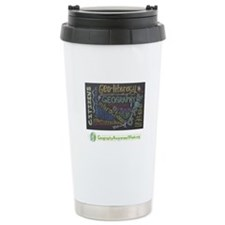 Chalkboard Wordle Travel Coffee Mug