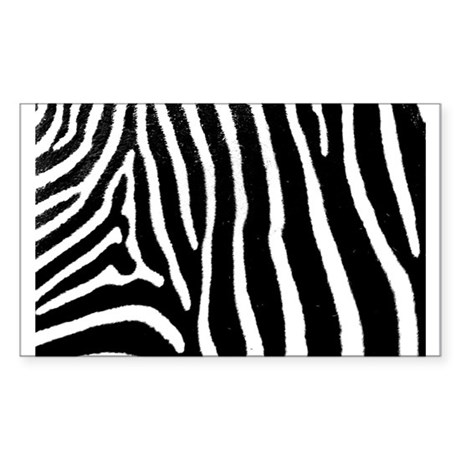 Helaine's Zebra Pattern Sticker