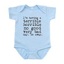 Terrible Horrible Infant Bodysuit