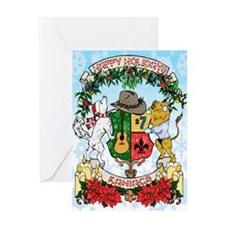 Kaniac Holiday Crest Greeting Cards