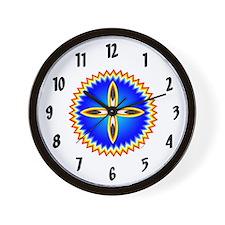 SOUTHEAST INDIAN DESIGN Wall Clock
