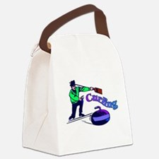 curling.jpg Canvas Lunch Bag