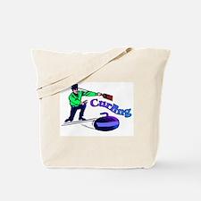 curling.jpg Tote Bag
