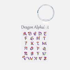 Dragon Alphabet Keychains