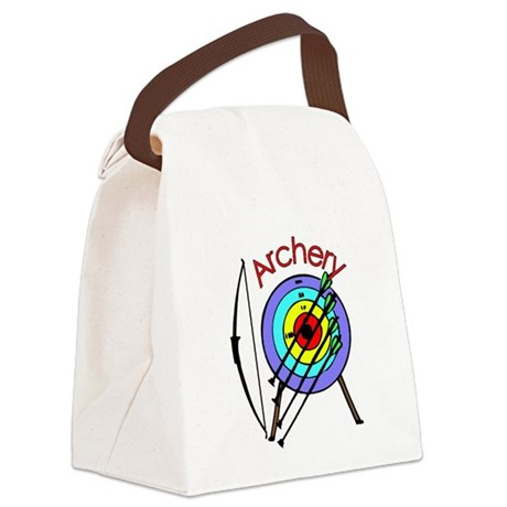 archery2.jpg Canvas Lunch Bag