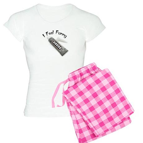 feel funny.jpg Women's Light Pajamas