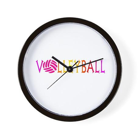 VOLLEYBALL4.jpg Wall Clock
