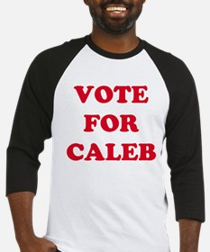 VOTE FOR CALEB  Baseball Jersey