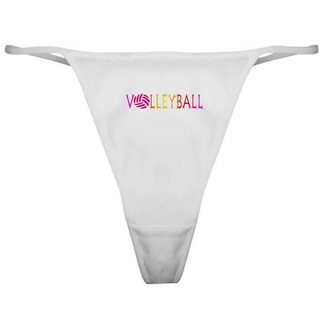 VOLLEYBALL4.jpg Classic Thong
