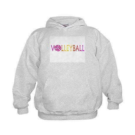 VOLLEYBALL4.jpg Kids Hoodie