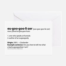 Eugoogooly Greeting Card