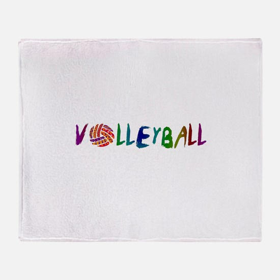 VOLLEYBALL3.jpg Throw Blanket