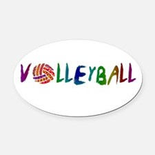 Girls Volleyball Car Magnets Personalized Girls Volleyball - Custom volleyball car magnets
