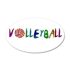 VOLLEYBALL3.jpg Wall Decal