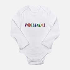VOLLEYBALL3.jpg Long Sleeve Infant Bodysuit