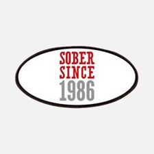 Sober Since 1986 Patches
