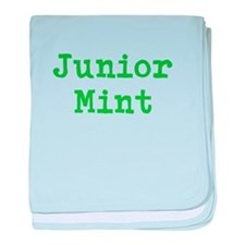 Junior Mint baby blanket