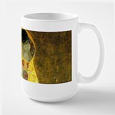 The Kiss by Gustav Klimt Ceramic Mugs
