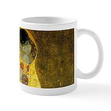 The Kiss by Gustav Klimt Small Mugs