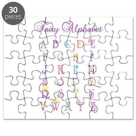 Fairy Alphabet Puzzle