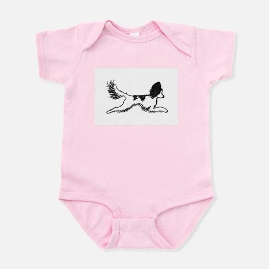 Leaping Papillon Infant Bodysuit