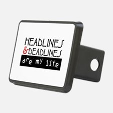 Headlines and Deadlines Hitch Cover