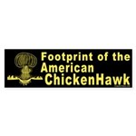 Footprint of the American ChickenHawk