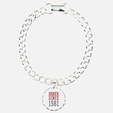 Sober Since 1981 Bracelet