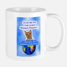 Miniature Pinscher (Red) Mug