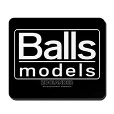 Balls Models Mousepad