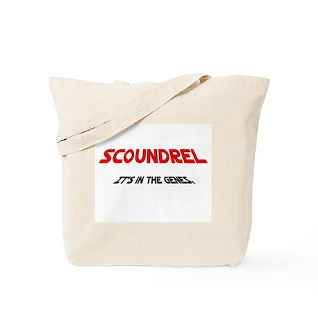 Scoundrel Genes Tote Bag