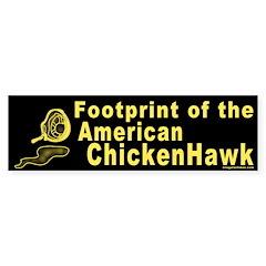 Footprint of the American Chicken Hawk