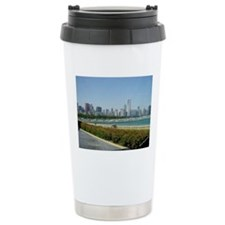 Cute Skyline Travel Mug