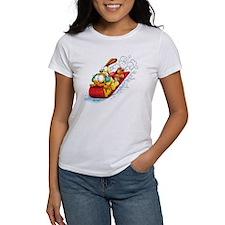 Sledding Fun! Women's T-Shirt