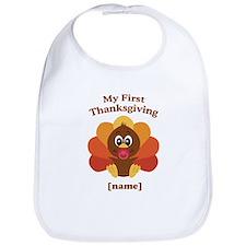Custom First Thanksgiving Bib