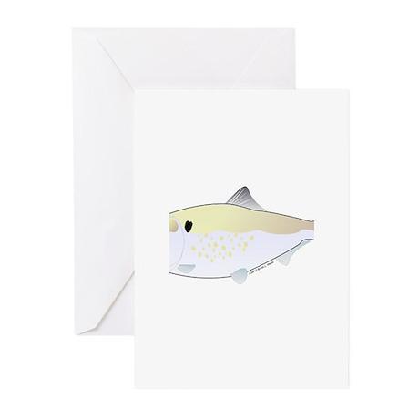 Menhaden Bunker fish Greeting Cards (Pk of 10)