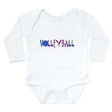 VOLLEYBALL1.jpg Long Sleeve Infant Bodysuit