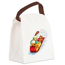 Sledding Fun! Canvas Lunch Bag