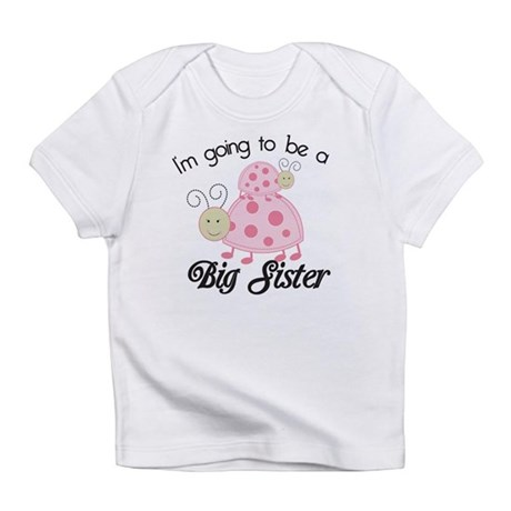 Im going to be a big sister Dottie Pink Ladybug In