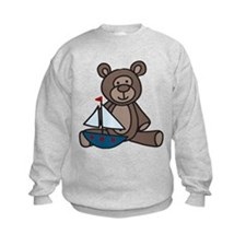 Bear And Boat Sweatshirt