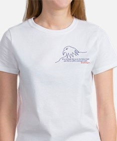 Eagle 2 side Women's T-Shirt