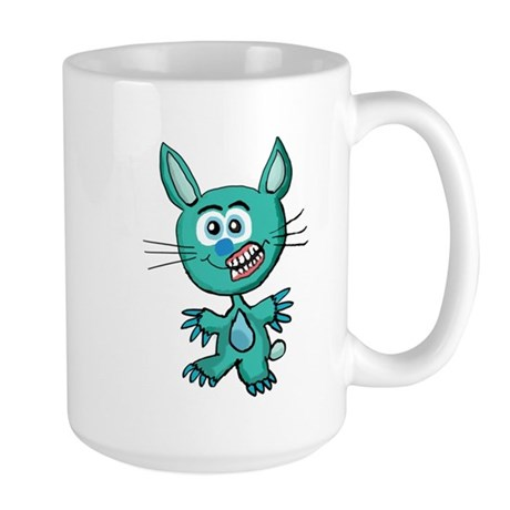 Zombie Bunny1 Large Mug