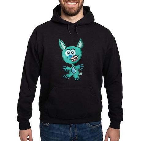 Zombie Bunny1 Hoodie (dark)